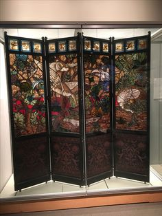 Stained Glass Corning Glass, Stained Glass, Divider, Room, Furniture, Home Decor, Bedroom, Decoration Home, Room Decor