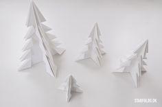DIY juletræer set i Magasinet Sally's
