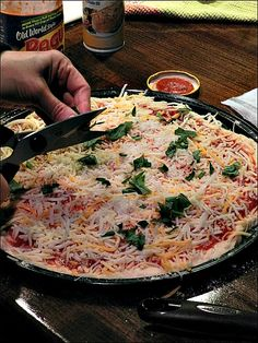 Easy Pizza Recipe (better for you than take out, and cheaper)