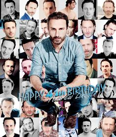 """ Happy 41th Birthday Andrew Lincoln (September 14th, 1973) """