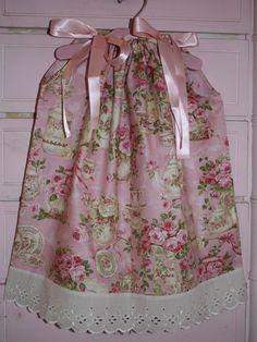 DIY Pillowcase Dress Instructions PDF Tutorial 12M-14/16 Matching American Girl Doll Dress Instructions Included. $6.50, via Etsy.
