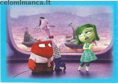Inside Out: Fronte Figurina n. 53 -