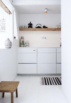 kitchen, white