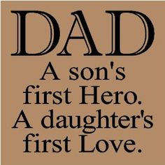 Dad, you taught me what a real man is...thank you!