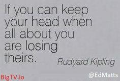 Kipling Losing Head