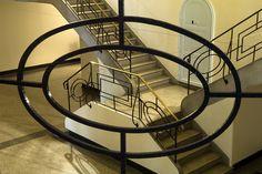 Conservatoire Municipal de Saint-Quentin, Picardie, France. Patrimoine Art Déco.