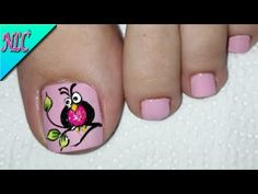 DISEÑO DE UÑAS PARA PIES BÚHO PASO A PASO - OWL NAIL ART - NLC - YouTube Owl Nail Art, Owl Nails, Best Nail Art Designs, Toe Nail Designs, Margarita Nails, Feet Nail Design, Camouflage Nails, Cotton Candy Nails, Finger