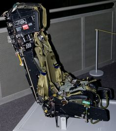 MB ejection seat, as fitted to RAF Jaguar and fighter bombers. Airplane Seats, Plane And Pilot, Ejection Seat, Aircraft Photos, Mechanical Design, Model Airplanes, Plastic Models, Military Aircraft, Scale Models