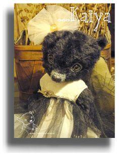Kaiya from Award Winning Handmade Mohair Teddy Bear Artist Denise Purrington