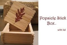 """Jewelry Box... with a little ribbon and hot glue, you can make the lid """"hinged""""."""