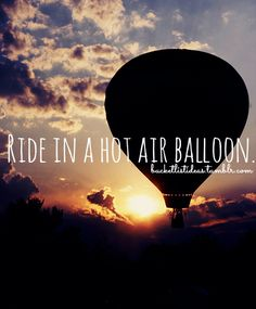 I recommend everyone to ride a hot air balloon! It was so much fun!!!