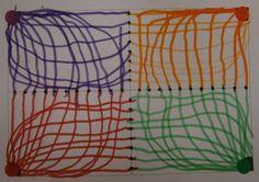 LA CLASE DE MIREN: mis experiencias en el aula: TALLER DE GRAFISMO: DEL PUNTO GORDO A LOS CUADRADITOS