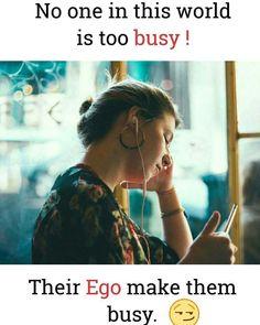 So u really not busy...just ur ego lle...manasslaayii...thanta tym allelum nikkollathoonnnm alallo