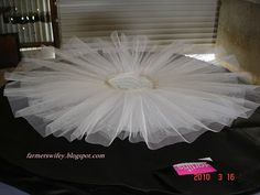 Make a pancake tutu?-Need to make some real tutus. Can't stand how my no sew ones last...