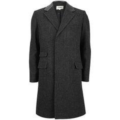YMC Waxed Wool Covert Coat.