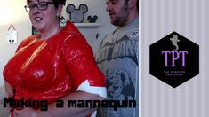 The Phantom Adventures are making Halloween costumes for Mickeys Not So Scary Halloween Party. Obviously, Gill needed a mannequin for this and after watching. Duck Tape, Halloween Costumes, Leather Jacket, Plus Size, How To Make, Jackets, Fashion, Duct Tape, Studded Leather Jacket