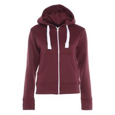 AX Paris Plain Burgundy Hoody (€21) ❤ liked on Polyvore featuring tops, hoodies, burgundy hoodies, ax paris, purple hoodie, burgundy hoodie and purple hooded sweatshirt