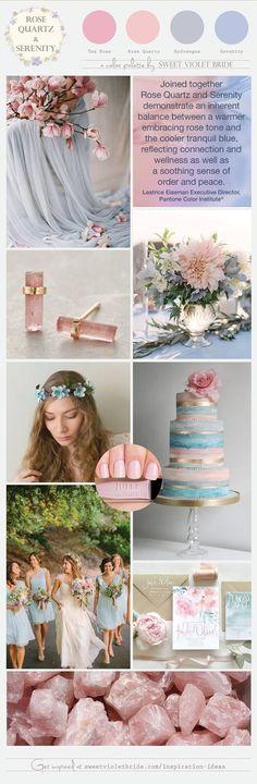 Pantone 2016 Colors Rose Quartz Serenity Inspiration