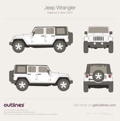 Jeep Wrangler drawings Jeep Wrangler Rubicon, Jeep Wrangler Unlimited, Mercedes G Wagon, Jeep Wrangler Accessories, Range Rover Classic, Land Rover Defender 110, Car Drawings, Car Sketch, Automotive Design