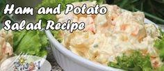 Ham and Potato Recipe - annie pickett - Filipino desserts Ham And Potato Recipes, Rice Recipes, Filipino Desserts, Filipino Recipes, Filipino Food, Filipino Biko Recipe, Tikoy Recipe, Lucky Food, Cold Desserts