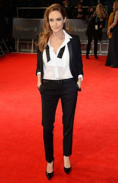 'Le Smoking': The 20 Chicest Women in Tuxedos this is dope..would love to rock this look