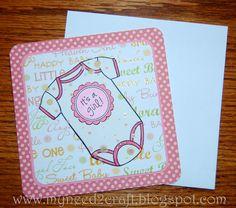 MyNeed2Craft: A baby girl card...