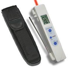 http://www.egenkontroll.nu/Mat-temperatur/KombiTemp-HACCP.html  KombiTemp HACCP  KombiTemp HACCP är en mycket använd termometer för egenkontroll. Använd populära KombiTemp för att scanna av livsmedel vid ankomst och i kylar och frysar. Använd sedan insticksgivaren för noggrannare undersökning av kärntemperaturen...