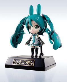 Miku Hatsune CuteRody Chogokin Diecast Actionfigur Miracle Henkei Miku/Rody 11 cm  Vocaloid / Miku Hatsune - Hadesflamme - Merchandise - Onlineshop für alles was das (Fan) Herz begehrt!