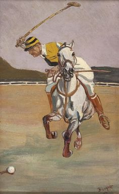Hold Your Horses ! ♚ I adore early polo art !