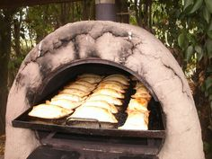 Chilean Empanadas, Baked on Clay Oven, With Wood Fire