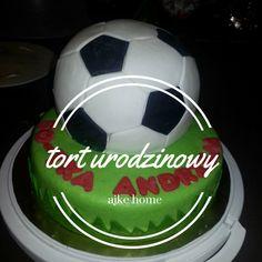 tort angielski urodzinowy piłka Soccer Ball, Baking, European Football, Bakken, European Soccer, Soccer, Backen, Sweets, Futbol