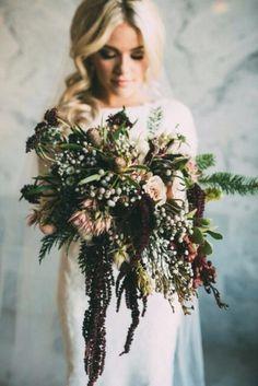 Winter-Wedding-Bouquet-Gothic-Rustic-Deep-Berry-weddingsonline
