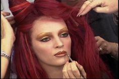 Poison Ivy makeup Uma Thurman movie makeup natural look