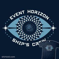A Hellish Event | Shirtoid #dclawrenceuk #eventhorizon #film #movies #scifi