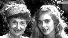Actors Vivean Gray (left) and Annie Jones in Ashleigh Brewer, Paul Robinson, Australian Actors, Annie, 1980s, The Past, Stage, Films, Cinema