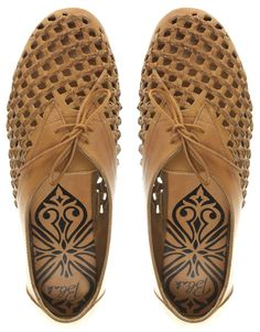 Blink Leather Weave Loafers