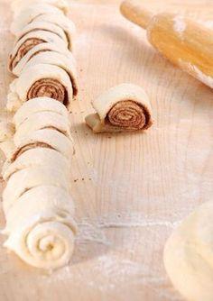 Nutella Schnecken