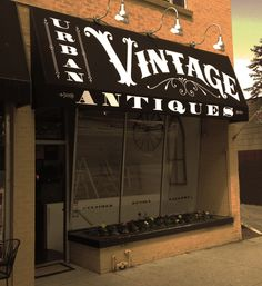 store front  urban vintage okay, not sure if I could pull this off, but I'd love to have my own shoppe)