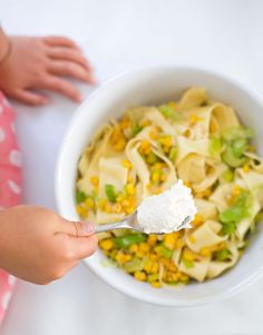 Pappardelle with Leeks and Corn | 21 Fun And Delicious Recipes You Can Make With Your Kids