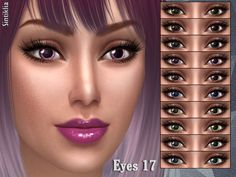 10 colors  Found in TSR Category 'Sims 4 Female Costume Makeup'