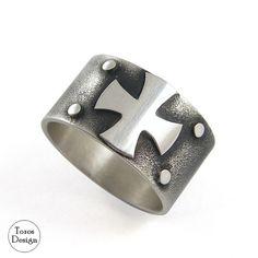 Krzyż Maltański / Toros Design / Biżuteria / Dla mężczyzn