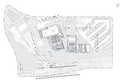 Image 1 of 35 from gallery of Sejong Art Center Competition Entry / H Architecture + Haeahn Architecture. Courtesy of H Architecture + Haeahn Architecture Architecture Images, Architecture Graphics, Draw Diagram, Theatre Design, Site Plans, Concert Hall, Cover Art, Competition, Floor Plans