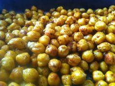 Zucchini Nature: Pois chiches grillés au curry