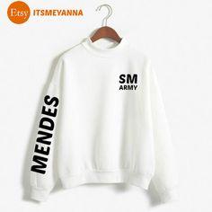 Sweat Shirt Hoodie Pull Shawn Mendes Justin Bieber by ITSMEYANNA