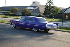 1964 Cadillac Limo. arrive   a little classy a little brazen: