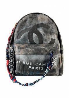 Chanel rucksac rebel