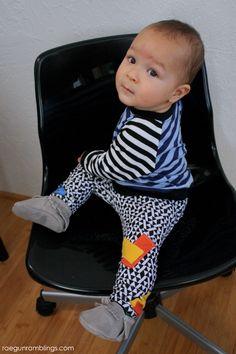 Music inspired baby boy outfit - Rae Gun Ramblings