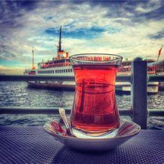 Turkish tea çay