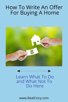 Learn how one should be filling out the contract for buying a home.