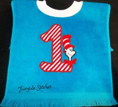 Personalized Boutique Baby Silly Cat Bib by Fairytalestitchesbou, $16.00